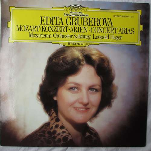 Bild Edith Gruberova*, Mozarteum-Orchester Salzburg*, Leopold Hager - Mozart Concert Arias (LP) Schallplatten Ankauf