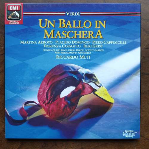 Bild Giuseppe Verdi - Un Ballo In Maschera (2xLP, Album) Schallplatten Ankauf