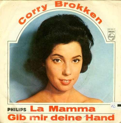 Bild Corry Brokken - La Mamma / Gib Mir Deine Hand (7, Single, Mono) Schallplatten Ankauf