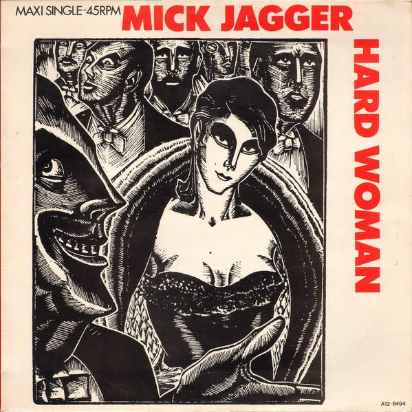 Cover Mick Jagger - Hard Woman  (12, Maxi) Schallplatten Ankauf