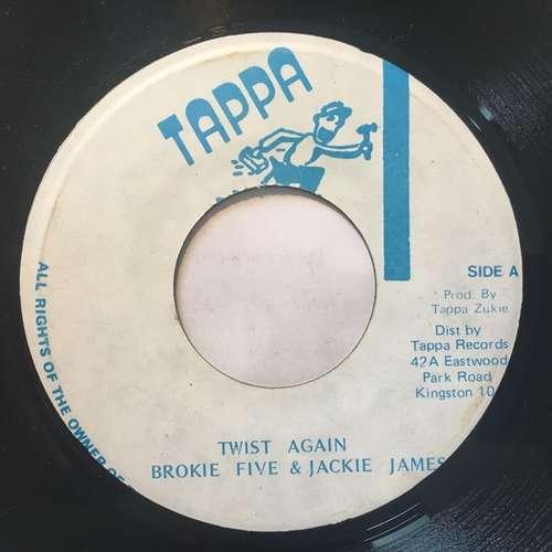 Bild Jackie James (3), Brokie 5 - Twist Again (7) Schallplatten Ankauf