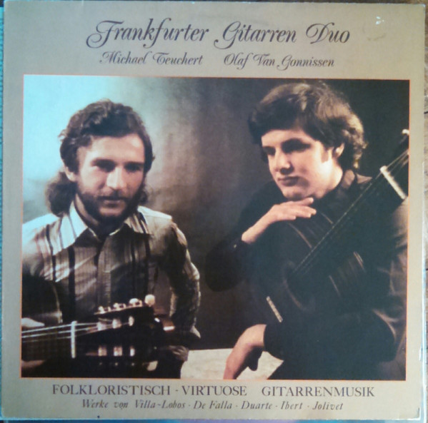 Cover Frankfurter Gitarren Duo - Folkloristisch-Virtuose Gitarrenmusik (LP, Album) Schallplatten Ankauf