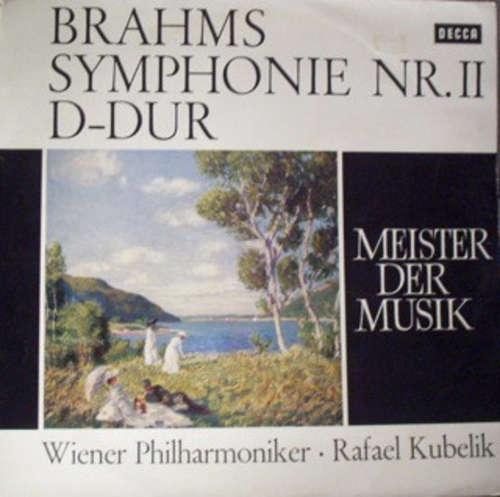 Bild Brahms*, Wiener Philharmoniker, Rafael Kubelik - Symphonie Nr. 2 D-Dur Op. 73 / Symphony No.2 D major (LP, Album, Roy) Schallplatten Ankauf