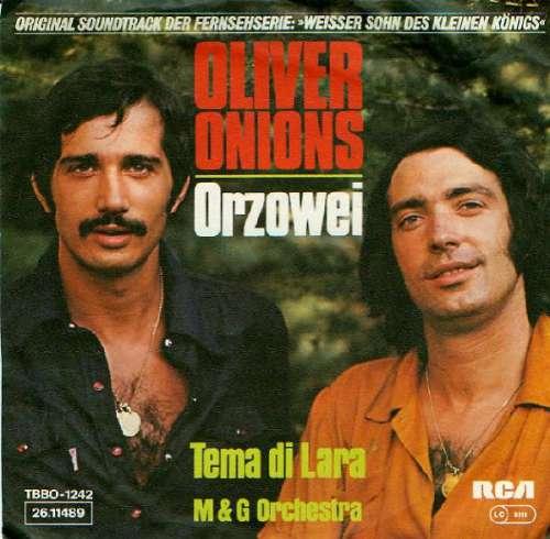 Cover Oliver Onions / M & G Orchestra* - Orzowei / Tema Di Lara (7, Single) Schallplatten Ankauf