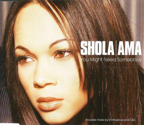 Cover Shola Ama - You Might Need Somebody (CD, Maxi, CD1) Schallplatten Ankauf