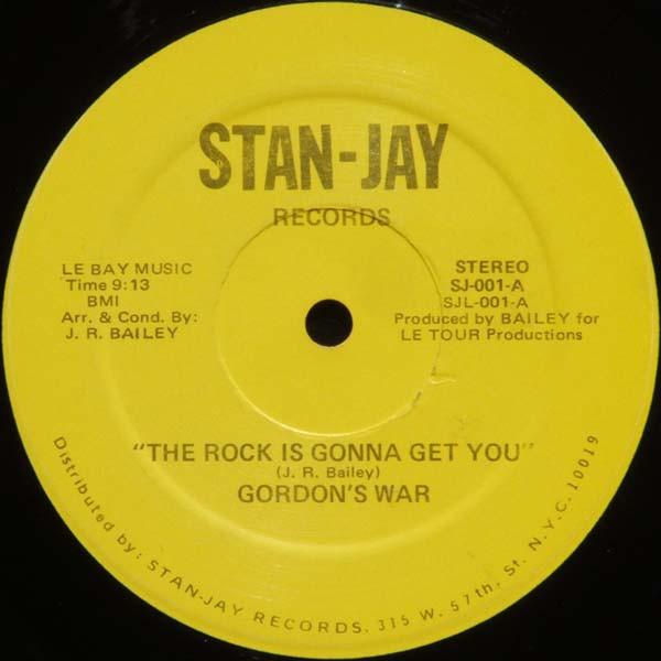 Bild Gordon's War - The Rock Is Gonna Get You (12) Schallplatten Ankauf