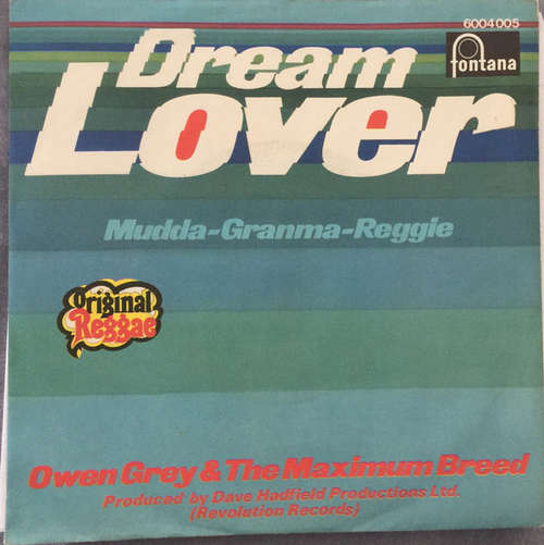 Cover Owen Grey*, Maximum Breed - Dream Lover  (7, Single, Mono) Schallplatten Ankauf