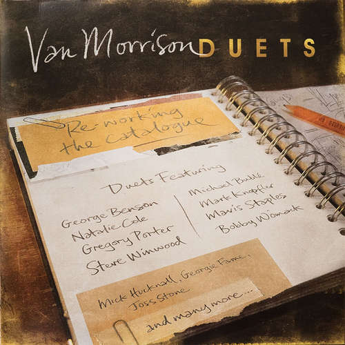 Cover Van Morrison - Duets: Re-working The Catalogue (2xLP, Album) Schallplatten Ankauf