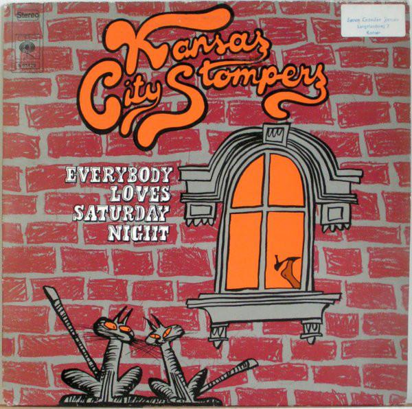 Cover Kansas City Stompers - Everybody Loves Saturday Night (LP, Album) Schallplatten Ankauf