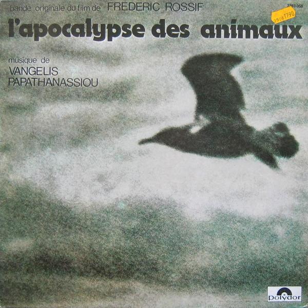 Cover Vangelis Papathanassiou* - L'Apocalypse Des Animaux (LP, Album, RE) Schallplatten Ankauf