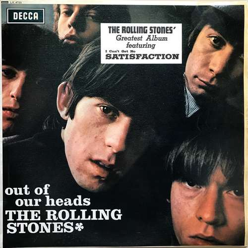 Cover The Rolling Stones - Out Of Our Heads (LP, Album, Mono) Schallplatten Ankauf