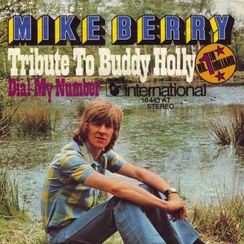 Cover zu Mike Berry - Tribute To Buddy Holly  (7, Single) Schallplatten Ankauf