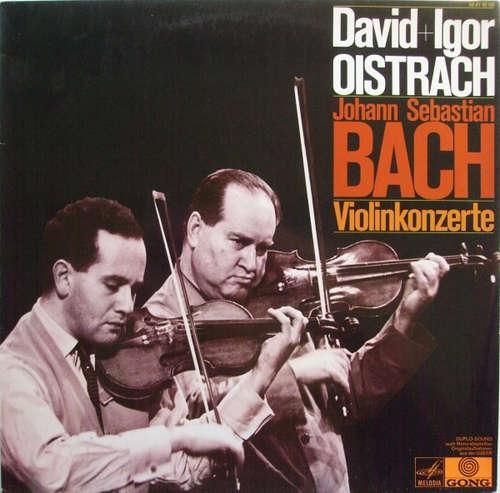 Bild Johann Sebastian Bach, David Oistrach, Igor Oistrach, Moskauer Kammerorchester*, Rudolf Barshai - Violinkonzerte (LP) Schallplatten Ankauf