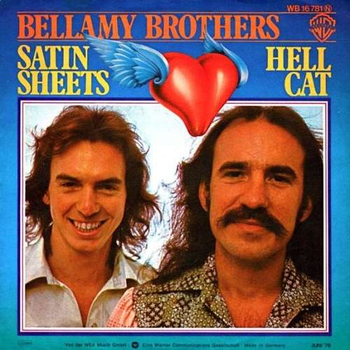 Bild Bellamy Brothers - Satin Sheets / Hell Cat (7, Single) Schallplatten Ankauf