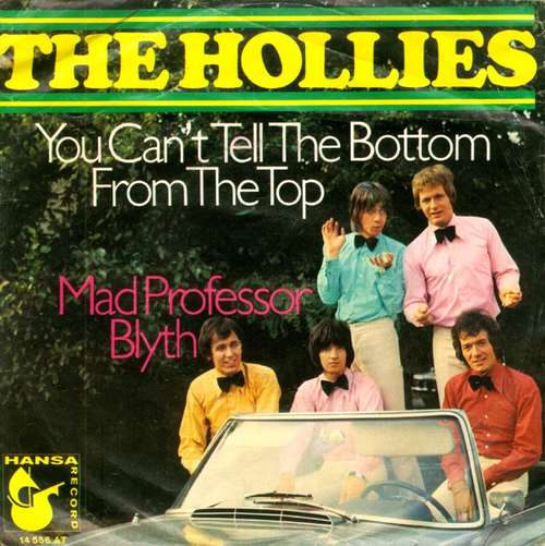 Bild The Hollies - You Can't Tell The Bottom From The Top (7, Single, Mono) Schallplatten Ankauf