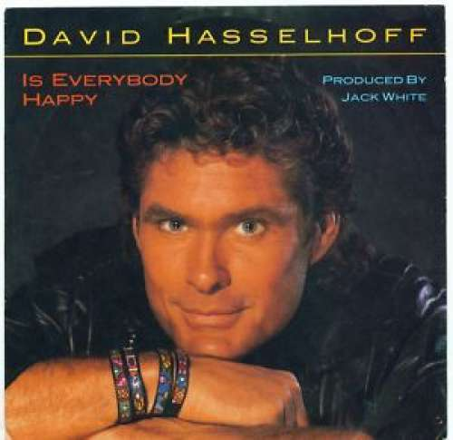 Bild David Hasselhoff - Is Everybody Happy (12) Schallplatten Ankauf