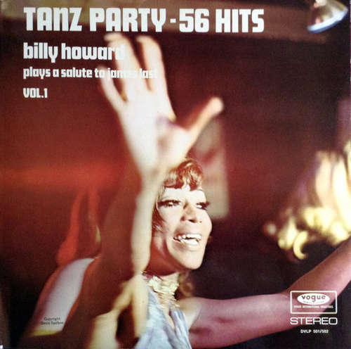 Cover Billy Howard (2) - Tanz Party - 56 Hits (Billy Howard Plays A Salute To James Last Vol.1) (2xLP) Schallplatten Ankauf