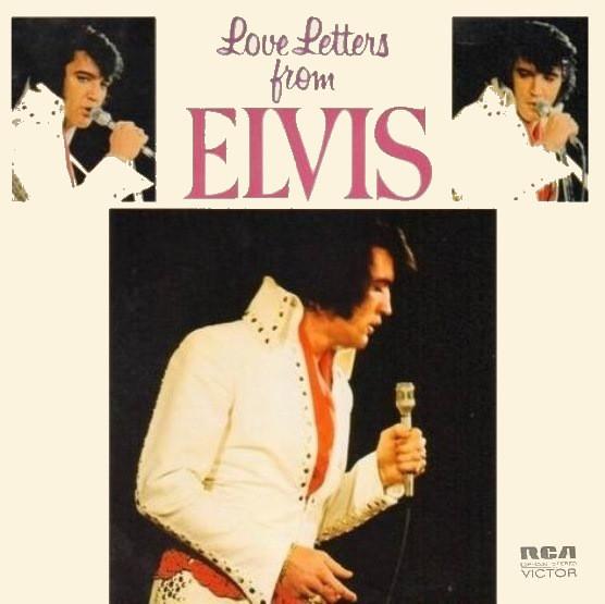 Cover zu Elvis Presley - Love Letters From Elvis (LP, Album) Schallplatten Ankauf