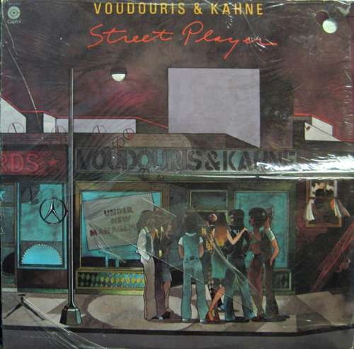 Bild Voudouris & Kahne - Street Player (LP, Album) Schallplatten Ankauf