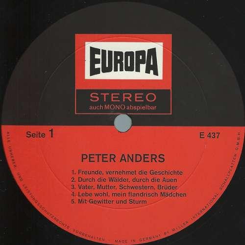 Cover zu Peter Anders (2) - Peter Anders (LP, Comp) Schallplatten Ankauf