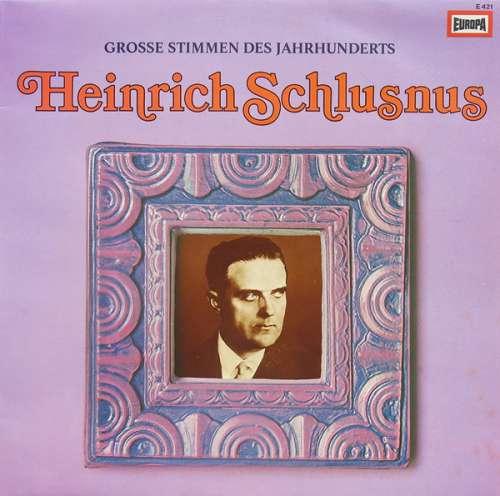 Bild Heinrich Schlusnus - Heinrich Schlusnus (LP, Comp) Schallplatten Ankauf