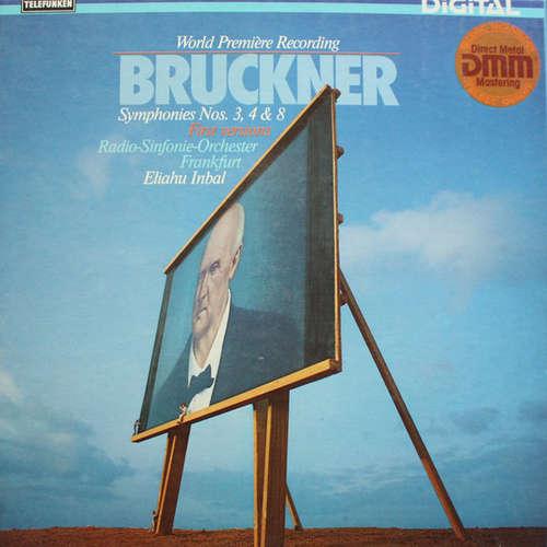 Bild Bruckner*, Radio-Sinfonie-Orchester Frankfurt, Eliahu Inbal - Symphonies Nos. 3, 4 & 8 (4xLP, Album + Box) Schallplatten Ankauf