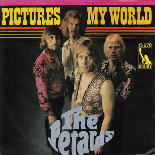Cover The Petards - My World / Pictures (7, Single, Mono) Schallplatten Ankauf