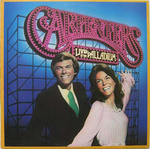 Cover Carpenters - Live At The Palladium (LP, Album) Schallplatten Ankauf