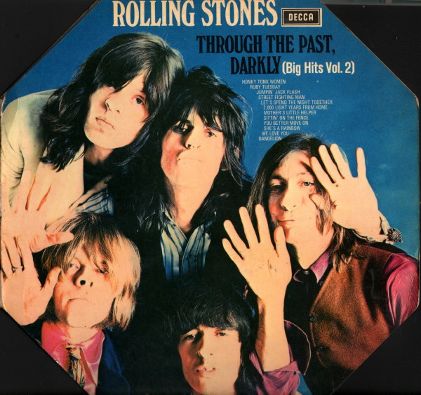 Cover The Rolling Stones - Through The Past, Darkly (Big Hits Vol. 2) (LP, Comp, RE, Squ) Schallplatten Ankauf