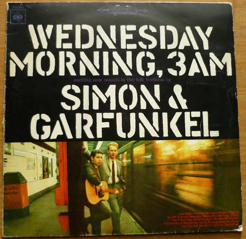 Cover Simon & Garfunkel - Wednesday Morning, 3 A.M. (LP, Album) Schallplatten Ankauf