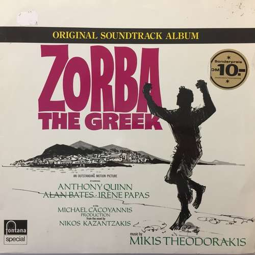 Cover zu Mikis Theodorakis - Zorba The Greek (Original Soundtrack) (LP, Album) Schallplatten Ankauf