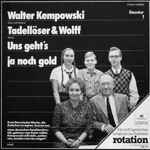 Cover Walter Kempowski - Tadellöser & Wolff / Uns Geht's Ja Noch Gold (LP, RE) Schallplatten Ankauf