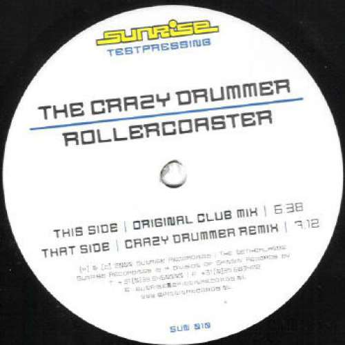 Bild The Crazy Drummer - Rollercoaster (10, TP) Schallplatten Ankauf
