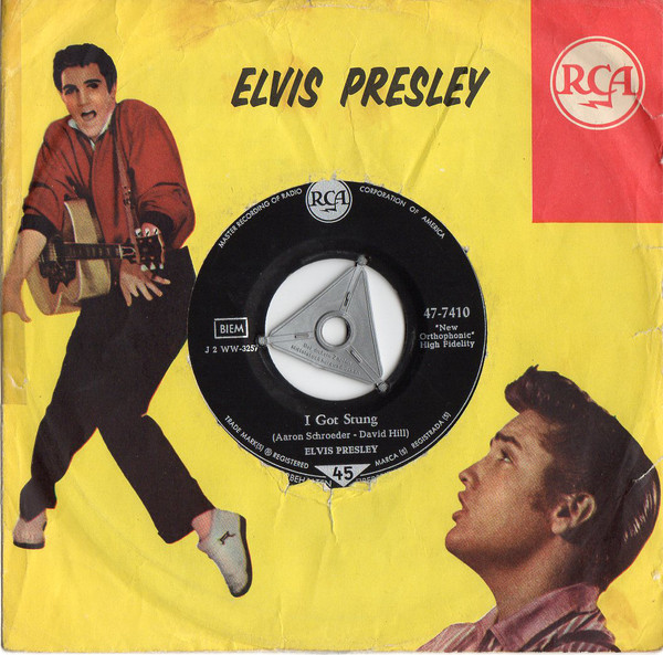 Cover Elvis Presley - One Night / I Got Stung (7, Single) Schallplatten Ankauf