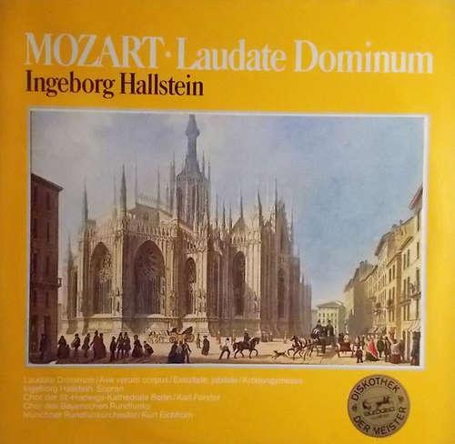 Cover Mozart*, Ingeborg Hallstein - Laudate Dominum (LP, Club) Schallplatten Ankauf