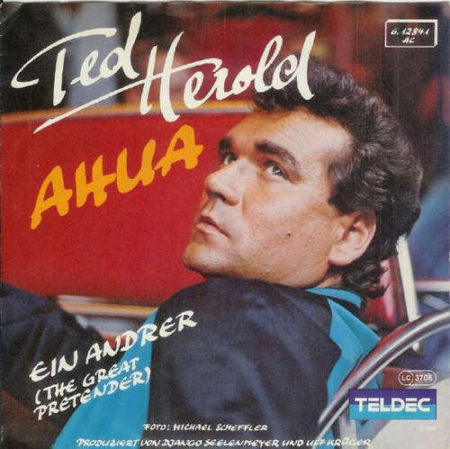 Bild Ted Herold - Ahua / Ein Andrer (The Great Pretender) (7, Single) Schallplatten Ankauf