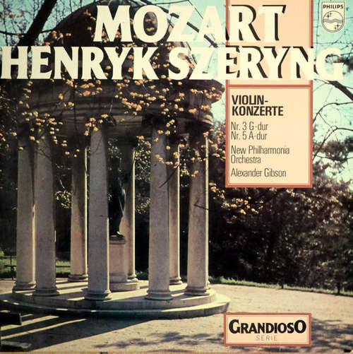 Bild Mozart*, Henryk Szeryng, New Philharmonia Orchestra, Alexander Gibson - Violinkonzerte Nr. 3 G-Dur; Nr. 5 A-Dur (LP, Comp, RE) Schallplatten Ankauf