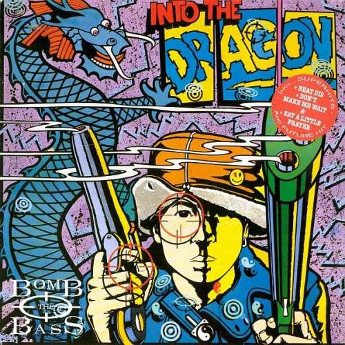 Cover Bomb The Bass - Into The Dragon (LP, Album) Schallplatten Ankauf