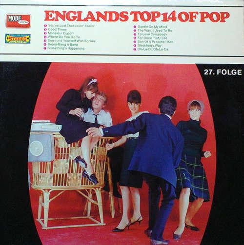 Cover zu Various - Englands Top 14 Of Pop - 27. Folge (LP, Comp) Schallplatten Ankauf