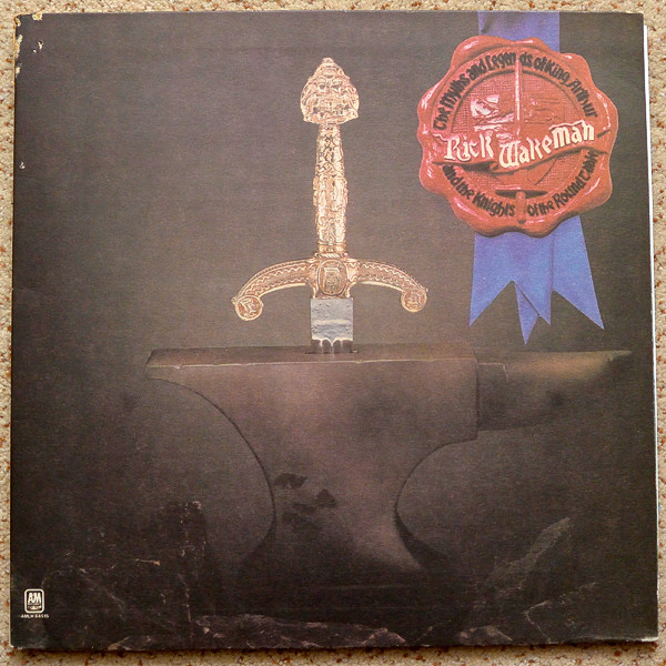 Cover Rick Wakeman - The Myths And Legends Of King Arthur And The Knights Of The Round Table (LP, Album, RP, Gat) Schallplatten Ankauf