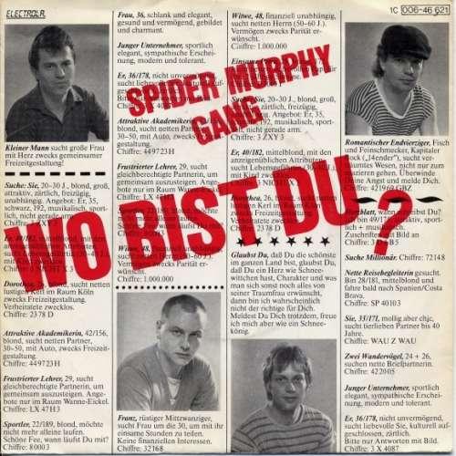 Bild Spider Murphy Gang - Wo Bist Du? (7, Single) Schallplatten Ankauf