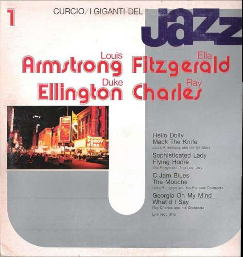 Cover Louis Armstrong, Ella Fitzgerald, Duke Ellington, Ray Charles - I Giganti Del Jazz Vol. 1 (LP, Comp) Schallplatten Ankauf