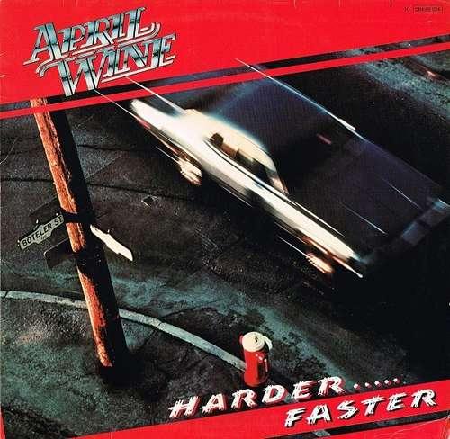 Bild April Wine - Harder.....Faster (LP, Album) Schallplatten Ankauf