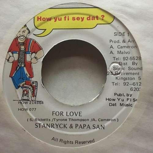 Bild Stanryck & Papa San - For Love (7) Schallplatten Ankauf