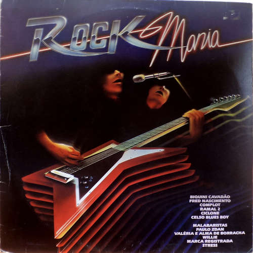 Bild Various - Rock Mania (LP, Comp) Schallplatten Ankauf