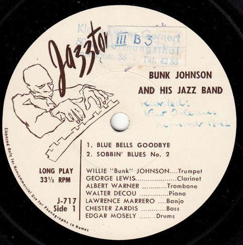Cover Bunk Johnson And His Jazz Band* - Blue Bells Goodbye (7) Schallplatten Ankauf