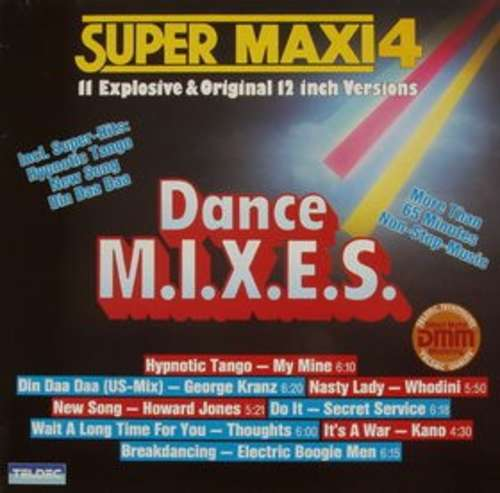 Cover Various - Super Maxi 4 (Dance M.I.X.E.S.) (LP, Comp) Schallplatten Ankauf