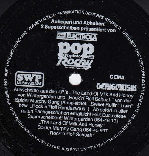 Cover Wintergarden / Spider Murphy Gang - Auflegen Und Abheben! (Flexi, 7, S/Sided, Promo) Schallplatten Ankauf