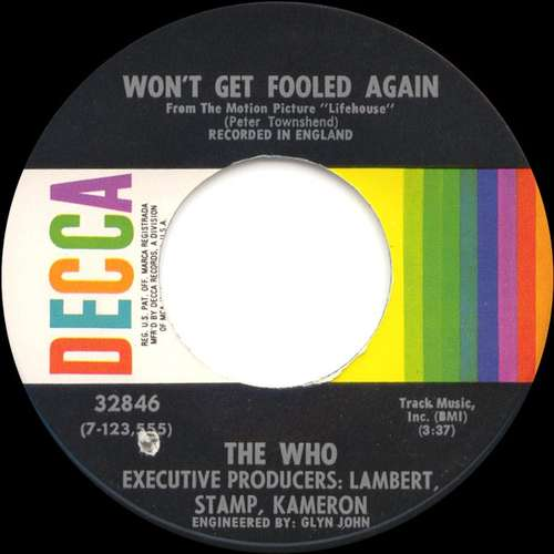 Bild The Who - Won't Get Fooled Again (7, Single, ✤Gl) Schallplatten Ankauf