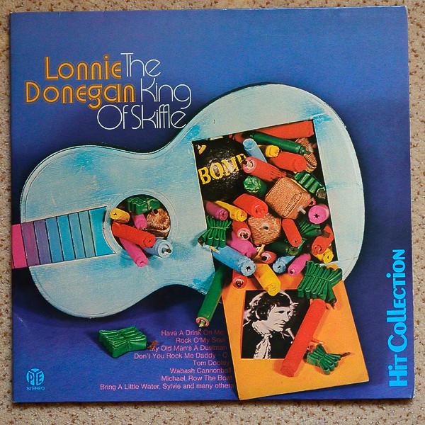 Cover Lonnie Donegan - The King Of Skiffle (2xLP, Comp) Schallplatten Ankauf